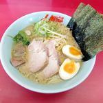 ラーメン山岡家 - 料理写真:醤油ネギラーメン+トッピング920円