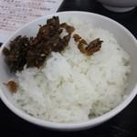 一竜 - 高菜でご飯