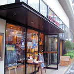 カフェ ゼノン - 2010/04/30撮影。暖かい日はテラスになるみたい