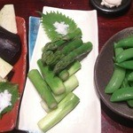 焼鶏 松本 - 野菜類