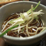 日本料理 旬坊 - 薬味おろし蕎麦(半玉)