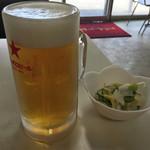 万福 - 22 生ビール(季節限定?)