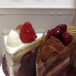 バニラビーンズ - ショートケーキ&赤い実のショコラ