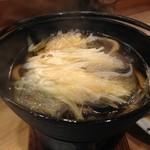 まずい魚 青柳 - どじょう鍋