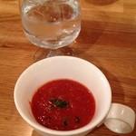 38042174 - スープはガスパチョ