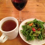 Shisui deux - スープ、サラダ