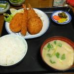与作 - ミックスフライ定食