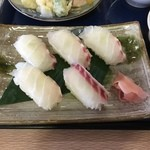 38043352 - マハタのにぎり寿司