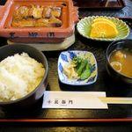北御門 - 楽焼鰻(竹ご膳、2,670円)