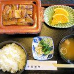 北御門 - 楽焼鰻竹ご膳のアップ