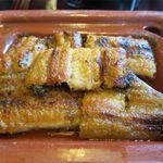 北御門 - 楽焼鰻のアップ