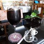 パンエヴィーノ - アイスコーヒー(ランチAセット)