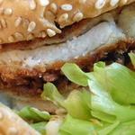 38045785 - とんかつバーガー380円+税 道産豚肉