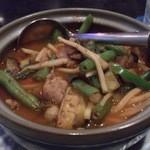 パタナ - ・ケーングパァ(小) 1000円 タイ風辛い野菜スープ