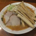 よし乃 - 味噌ラーメン+メンマ
