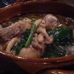 コモードキッチン - 牡蠣とほうれん草のアヒージョ