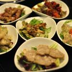 Pescheria Cara mishuku - 前菜盛り合わせ