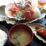 大間新栄丸 - 新栄丸定食(¥1500)