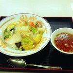 前沢サービスエリア(下り線)スナックコーナー - 中華飯