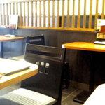 そばうどん處 七福 弁天庵 - (2010年4月)店内は変わっていませんでした