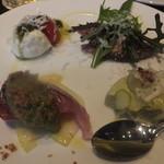グリリア ディ ガエターノ - 前菜の盛り合わせ