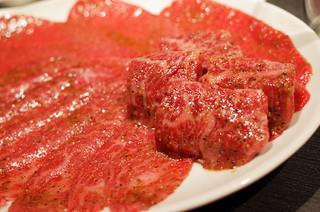 うしごろバンビーナ 恵比寿ヒルトップ店 - 手前のハラミが最高でした。