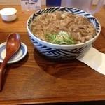 増田うどん - 肉うどん大