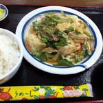 38051120 - ゴーチチャンプルー定食