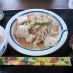 38051121 - 豆腐チャンプルー定食