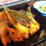 活魚小松 - はまちのアラ煮定食