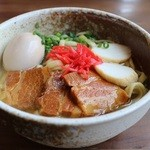 てぃーだ - 料理写真:沖縄そば(味玉)