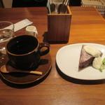 みのりCafe - ケーキセット
