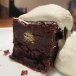 みのりCafe - 甘栗のブラウニー