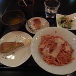 本格シュラスコ肉バル ピザ&イベリコ豚 TORO - ボロネーゼランチセット ¥750→¥500