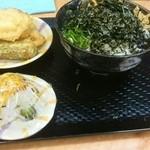 こがね製麺所 - 私のチョイス(どんぶり、小さい~)