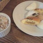 3806451 - サラダとパン