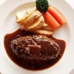 レストラン モントレー - ハンバーグの黒粒胡椒焼き