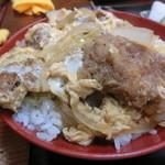 栄家 - カツ丼 2015.5