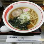 深川 伊勢屋 - 「伊勢屋ラーメン」(醤油)550円