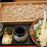 レストラン フレスガッセ - 天ぷら板蕎麦