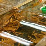 Izushisarasobahanamizuki - カニがいっぱい~♪             でもボキらはしばらく食べなくても大丈夫だな。