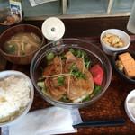 地球居酒屋 渋屋 - 生姜焼き定食(ランチ)