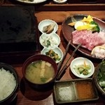 和牛旬菜  咲蔵 - おかもと商店特選サーロイン 150g (2780円)