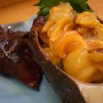 海鮮料理 居酒屋 六文銭 - ほや貝です ポン酢で