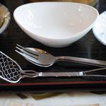 善乃園 - 豆腐すくいが用意されています