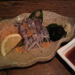 季節料理 柳橋 - ホタルイカの刺身