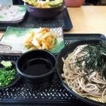 さわら麺処 - 料理写真:☆ざるそば&かき揚げ☆