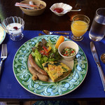 ガストホフ リュミエール - 料理写真:朝食:メイン皿