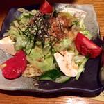 38072122 - 湯葉と豆腐のサラダ