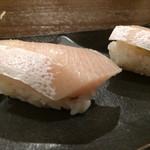 NARUMI - 二週間寝かせたヒラマサ  うん、香りがでてきてるね良い!
